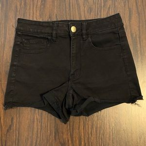 American Eagle jeans shorts high rise shortie sz 6